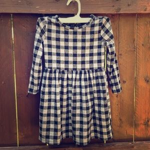 Old Navy Girls Buffalo Plaid Dress